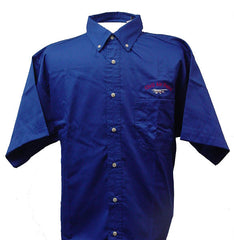 Civil Air Patrol Leisure Short Sleeve Shirt: Royal Blue - male