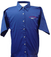 Civil Air Patrol Leisure Short Sleeve Shirt: Royal Blue - female