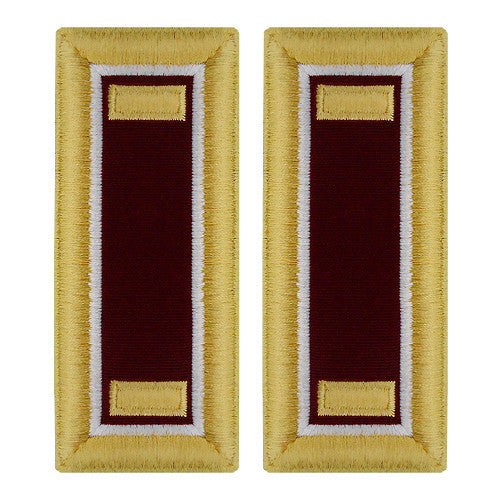 Army Shoulder Strap: Second Lieutenant Medical - female