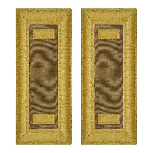 Army Shoulder Strap: Second Lieutenant Quartermaster - female