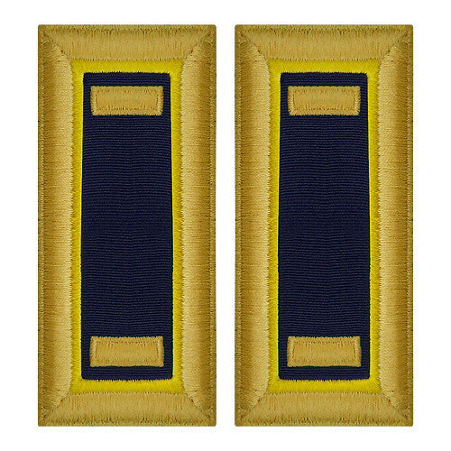 Army Shoulder Strap: Second Lieutenant Chemical - female