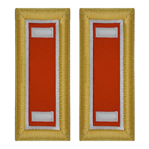 Army Shoulder Strap: First Lieutenant Signal - female