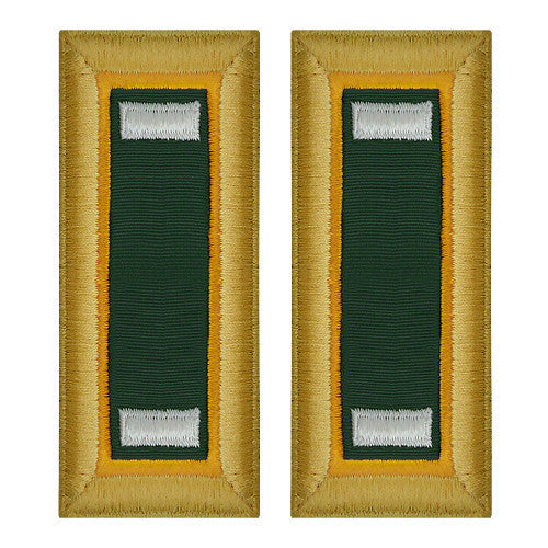 Army Shoulder Strap: First Lieutenant Military Police - female