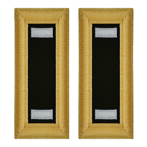Army Shoulder Strap: First Lieutenant Chaplain - female