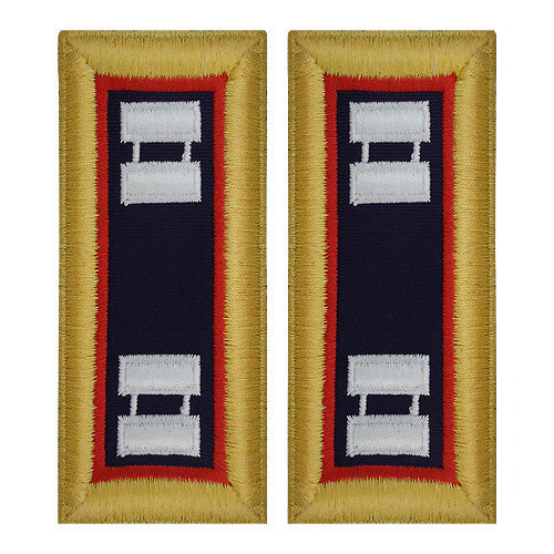 Army Shoulder Strap: Captain Adjutant General - female