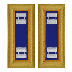 Army Shoulder Strap: Captain Aviation - female
