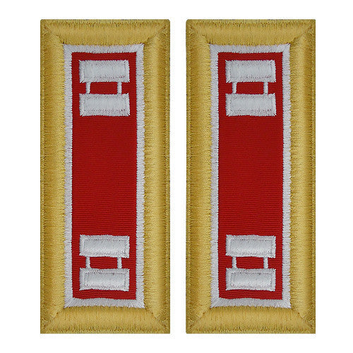 Army Shoulder Strap: Captain Engineer - female