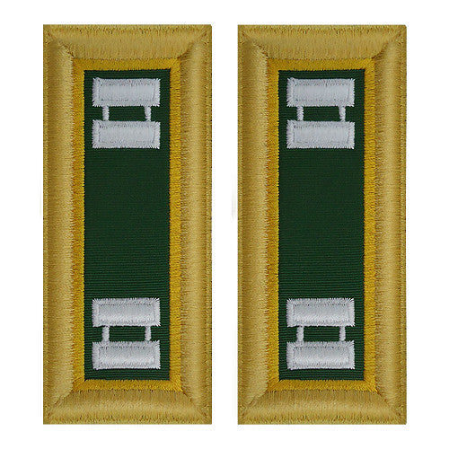 Army Shoulder Strap: Captain Military Police - female