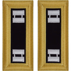 Army Shoulder Strap: Captain Chaplain