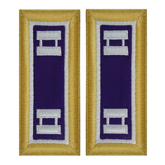 Army Shoulder Strap: Captain Civil Affairs - female
