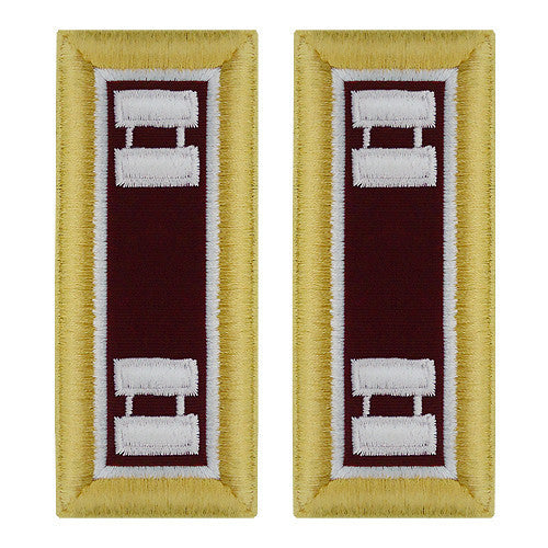 Army Shoulder Strap: Captain Medical - female