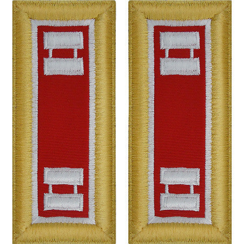 Army Shoulder Strap: Captain Engineer