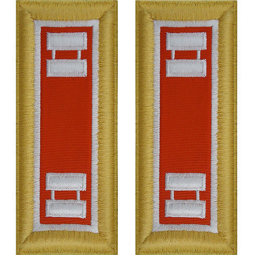 Army Shoulder Strap: Captain Signal