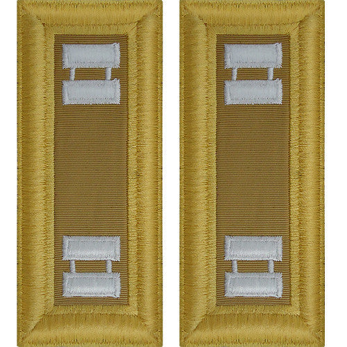 Army Shoulder Strap: Captain Quartermaster