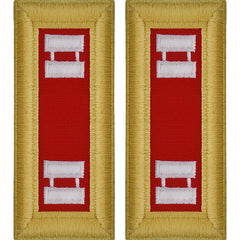 Army Shoulder Strap: Captain Artillery