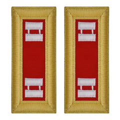 Army Shoulder Strap: Captain Artillery - female