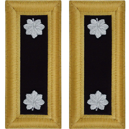 Army Shoulder Strap: Lieutenant Colonel Chaplain