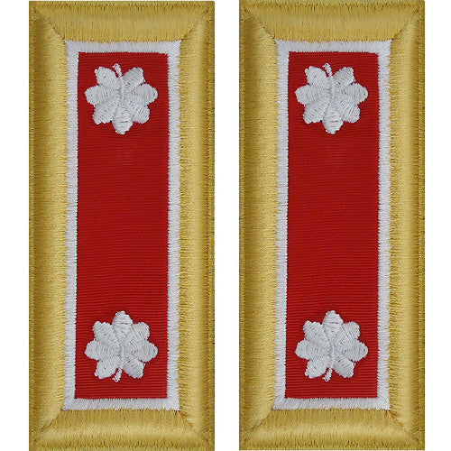 Army Shoulder Strap: Lieutenant Colonel Engineer