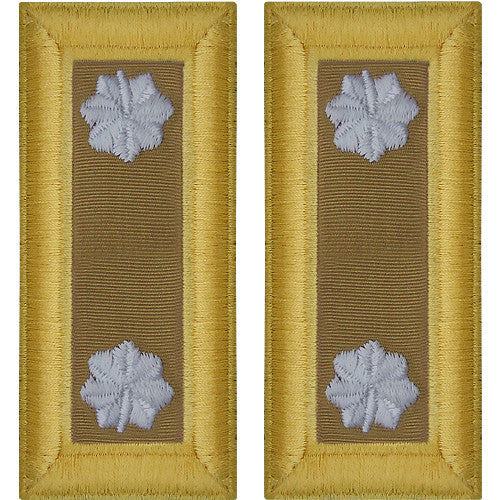 Army Shoulder Strap: Lieutenant Colonel Quartermaster