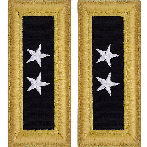 Army Shoulder Strap: Major General - female