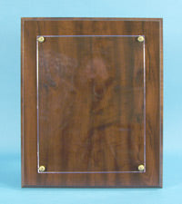 CAP Plaque: Walnut-type Finish