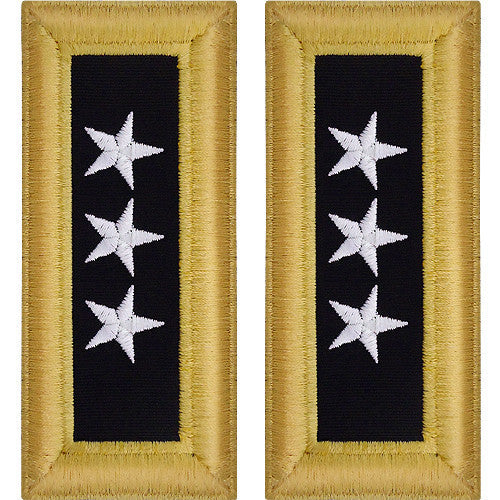 Army Shoulder Strap: Lieutenant General