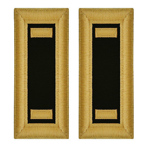 Army Shoulder Strap: Second Lieutenant Chaplain - female