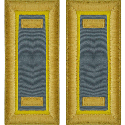 Army Shoulder Strap: Second Lieutenant Finance