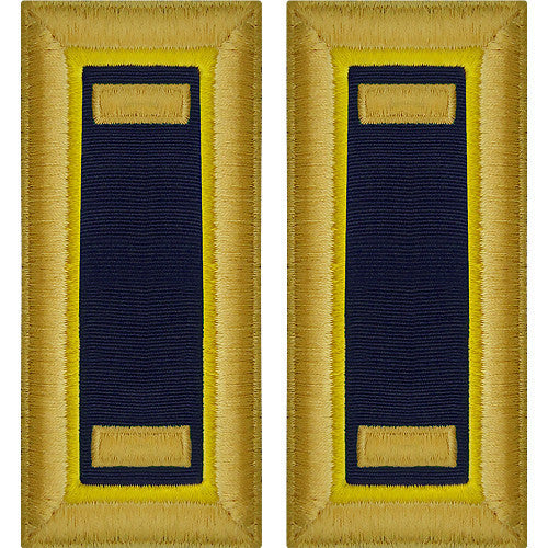 Army Shoulder Strap: Second Lieutenant Chemical