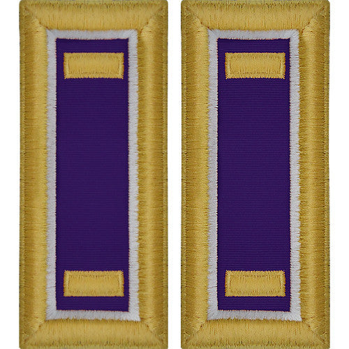 Army Shoulder Strap: Second Lieutenant Civil Affairs