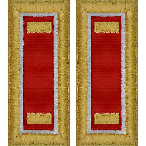 Army Shoulder Strap: Second Lieutenant Engineer