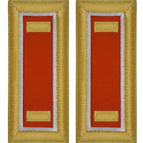 Army Shoulder Strap: Second Lieutenant Signal