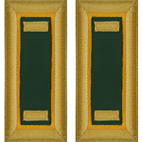 Army Shoulder Strap: Second Lieutenant Military Police