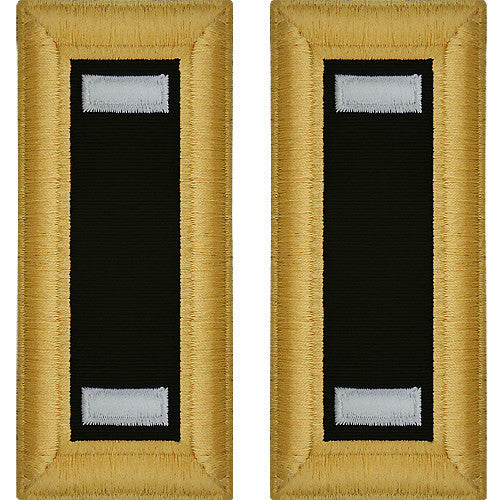 Army Shoulder Strap: First Lieutenant Chaplain