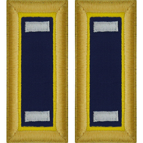 Army Shoulder Strap: First Lieutenant Chemical