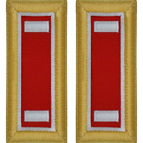 Army Shoulder Strap: First Lieutenant Engineer