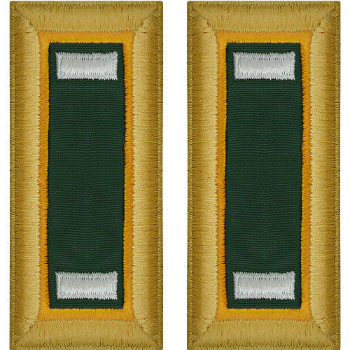 Army Shoulder Strap: First Lieutenant Military Police