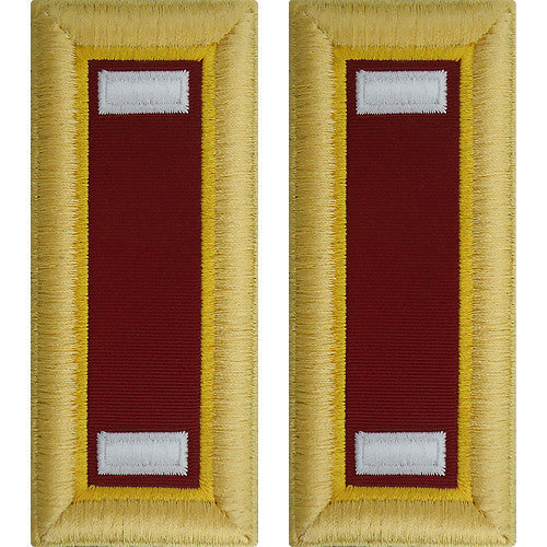 Army Shoulder Strap: First Lieutenant Transportation