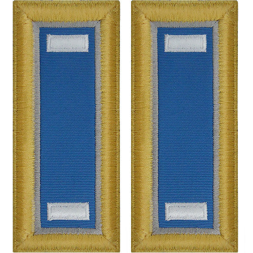Army Shoulder Strap: First Lieutenant Military Intelligence