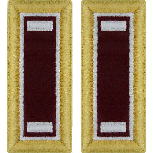 Army Shoulder Strap: First Lieutenant Medical