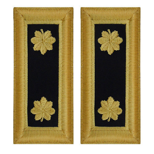 Army Shoulder Strap: Major Chaplain - female