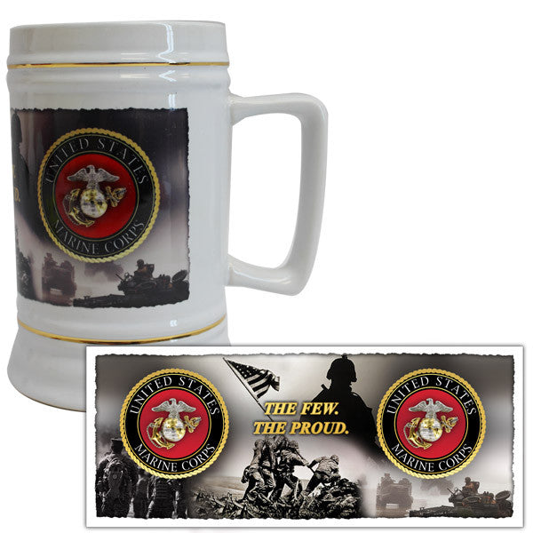 US Marine Corps 22 ounce Beer Stein