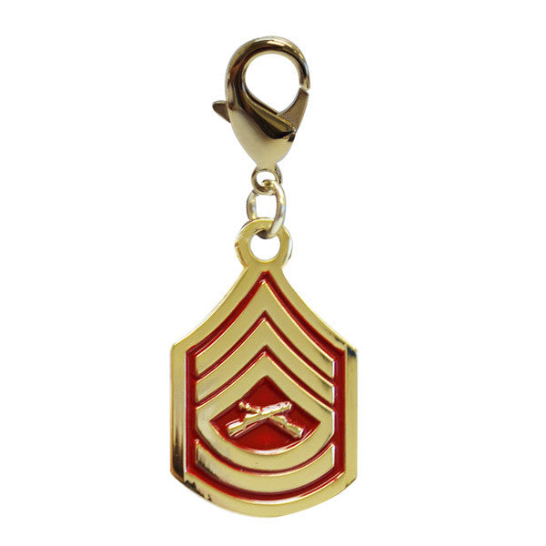 Pet Insignia Rank Charm  - GYSGT