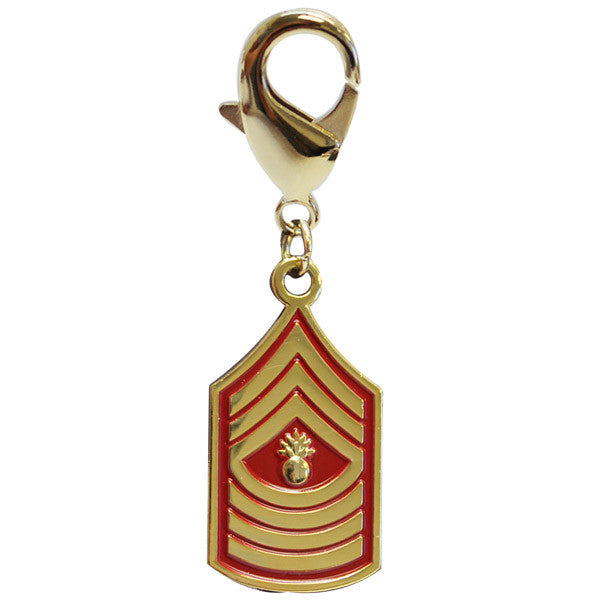 Pet Insignia Rank Charm  - MST GY SGT