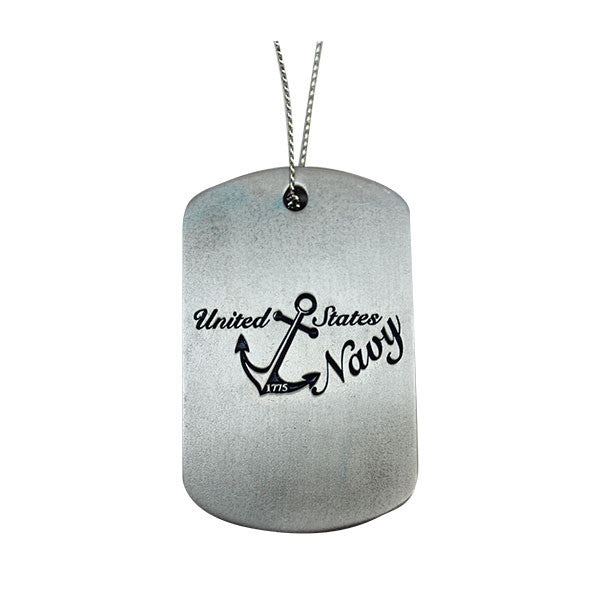 Ornament: Navy Dog Tag