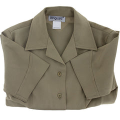 Young Marine's Shirt: Youth Female, Short Sleeve, Tan
