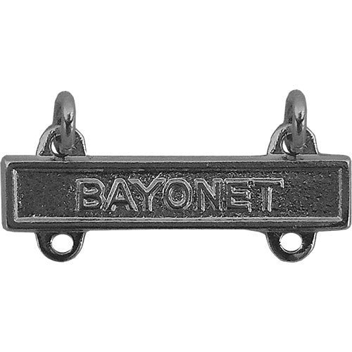 Army Qualification Bar: Bayonet - mirror finish