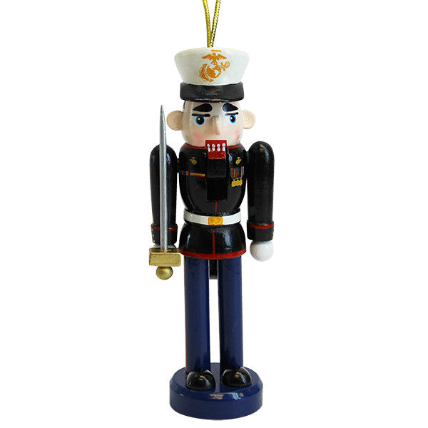 Marine Corps Nutcracker with Sword