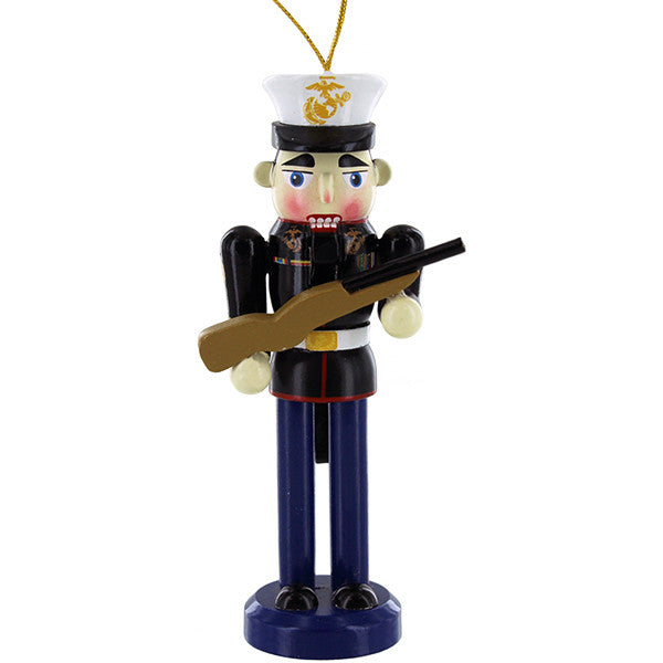 Marine Corps Nutcracker with port arms