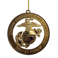 Christmas Tree Ornament: Marine Corps Emblem